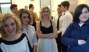 Santa Chiara, scatti dal backstage