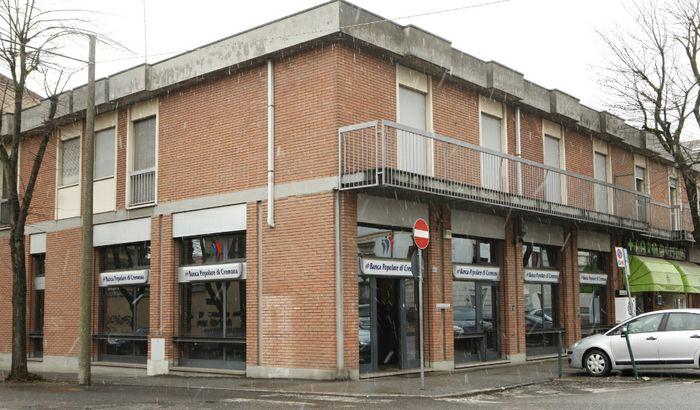 La sede della Banca Popolare di Cremona
