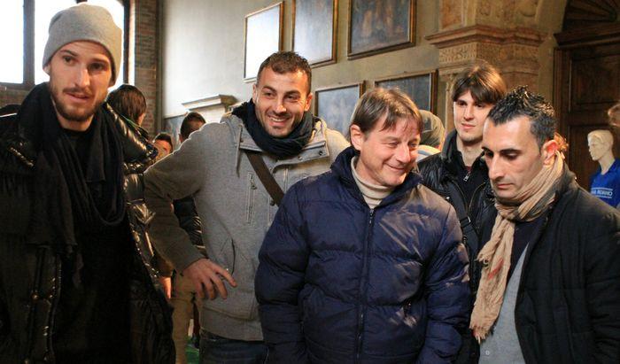 Giancarlo Finardi ha qualcosa da raccontare a Tedeschi, Grillo, Sambugaro e Caridi