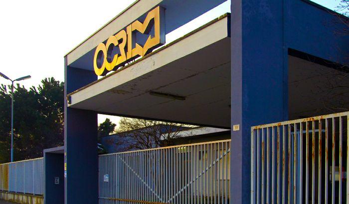 Ocrim, l'ingresso al porto canale del sito logistico di produzione
