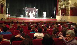 Bambini al Museo Diotti e a Teatro