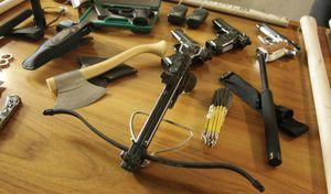 Rissa tra bikers: sequestro di armi