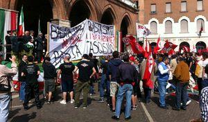 Manifestazione del XXV Aprile a Cremona