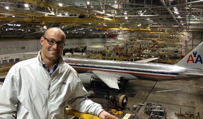 Tiziano Priori alla Boeing negli Usa