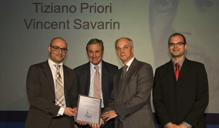 Tiziano Priori premiato in Inghilterra