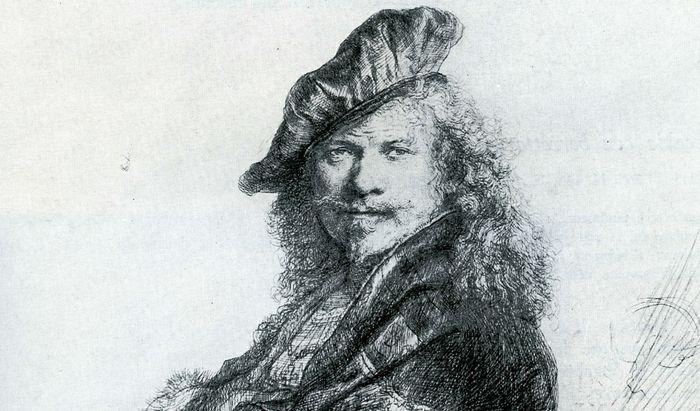 Rembrandt autoritratto