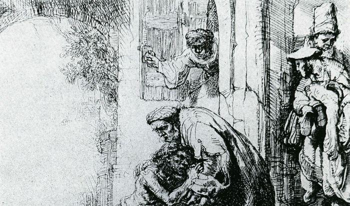 Rembrandt figliol prodigo