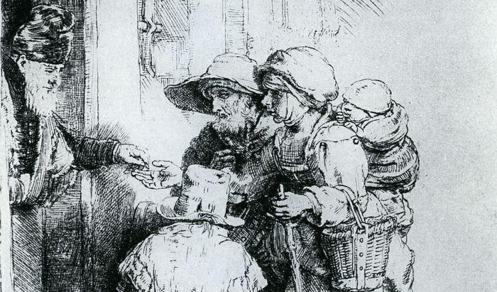 Rembrandt mendicanti