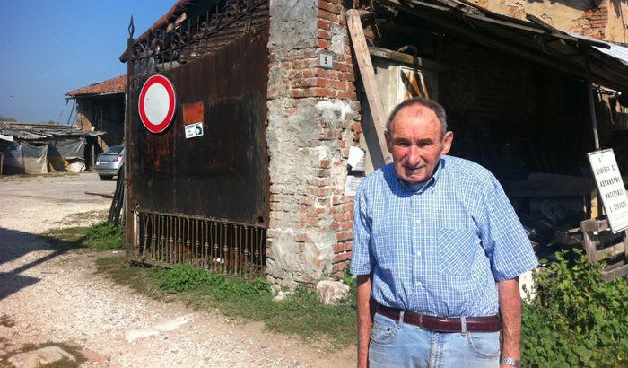 Romolo Crotti, il guaritore del Boschetto
