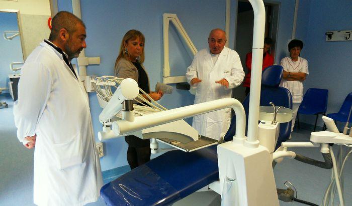 Le nuove apparecchiature di uno degli studi odontoiatrici