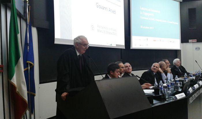 La Laurea ad honorem in Ingegneria a Giovanni Arvedi