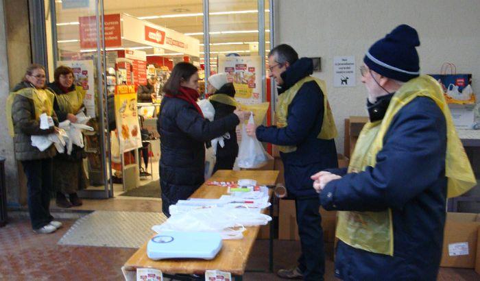 Giornata della colletta alimentare a Cremona