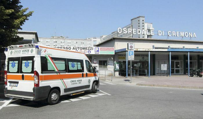 Ingresso ospedale di Cremona