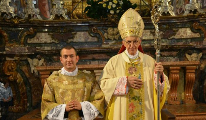 Don Matteo Bottesini e il vescovo, Dante Lafranconi