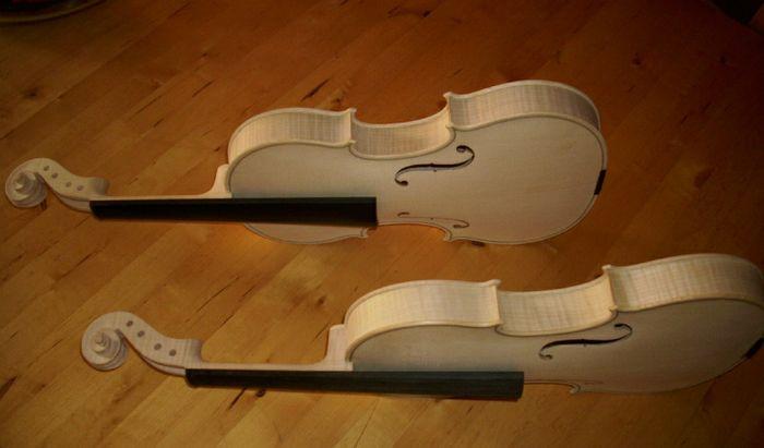 I violini prefabbricati