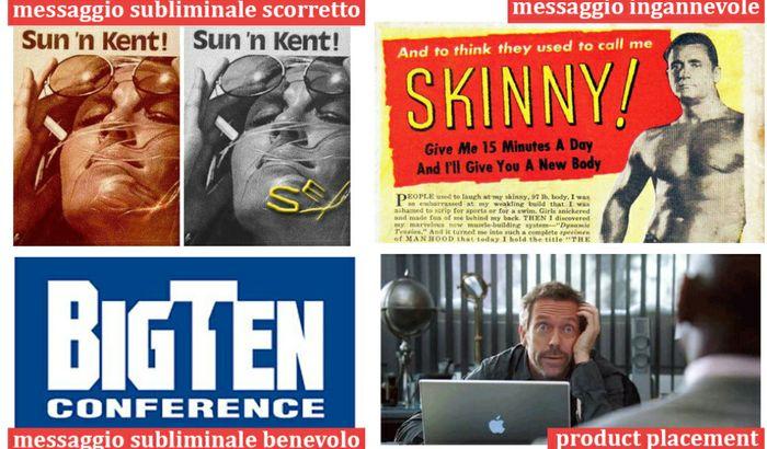 I tipi di messaggi nei media