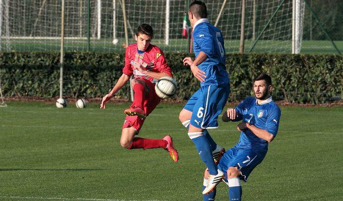 La Berretti grigiorossa ha battuto in amichevole la Under 18 di Lega Pro