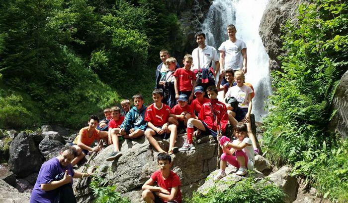 I piccoli partecipanti al Camp estivo del Pieve 010