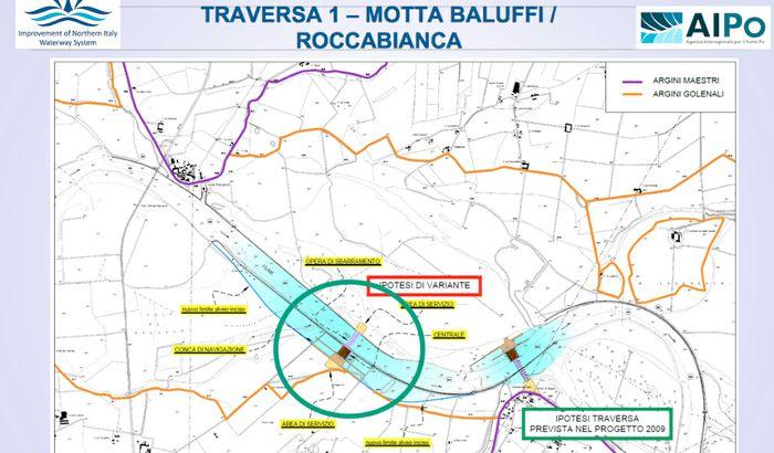 Lo sbarramento di Motta Baluffi