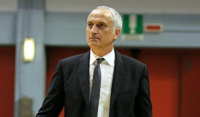 L'head coach della Vanoli Cesare Pancotto