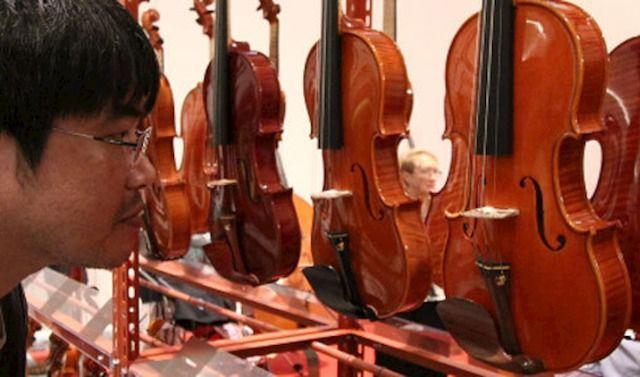 Violini in mostra