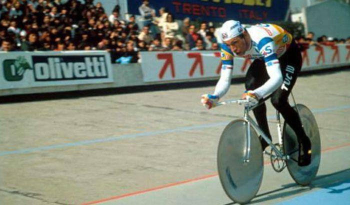 Francesco Moser, il record dell'ora