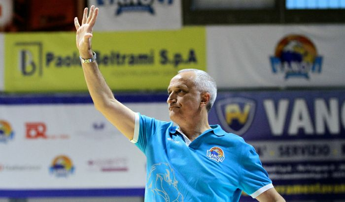 Vabnoli, coach Cesare Pancotto