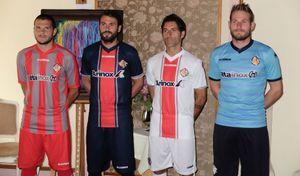 La Cremonese presenta le nuove maglie