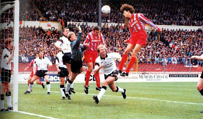 Il gol di Corrado Verdelli nella finale di Wembley