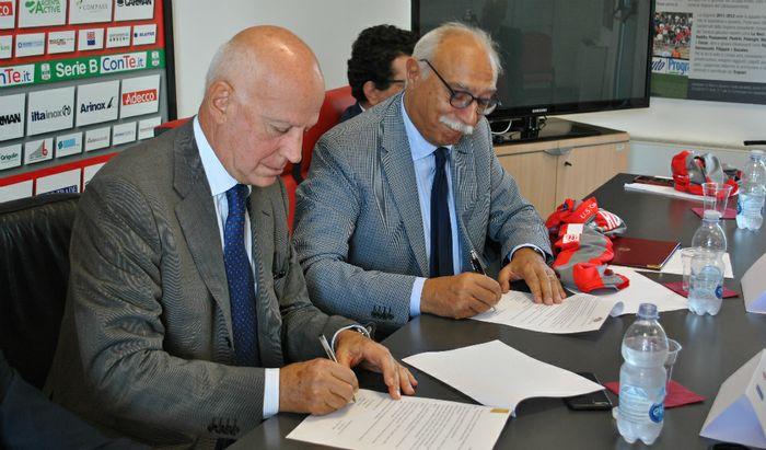 Rossi e Rugge, firma della convenzione