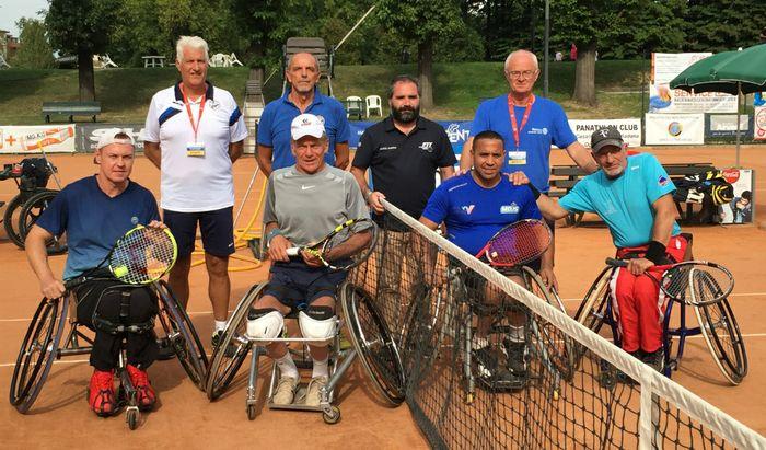 Torneo Tennis in Carrozzina 'Città di Cremona', premiazioni