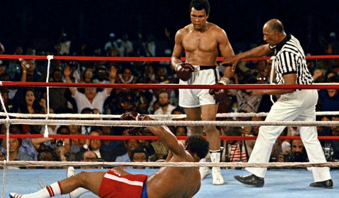 Muhammad Ali vs. George Foreman (Kinshasa. 1974)