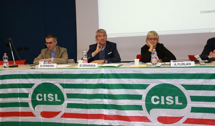 Consiglio Generale Cisl Asse del Po - Demaria e Furlan