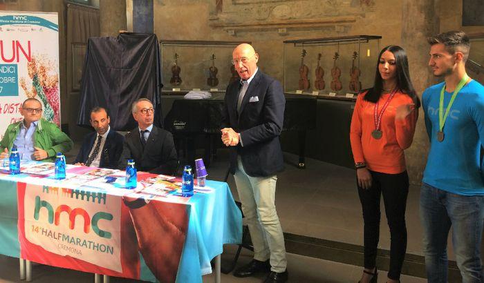 Claudio Bodini presenta la collaborazione con Cremona Runners