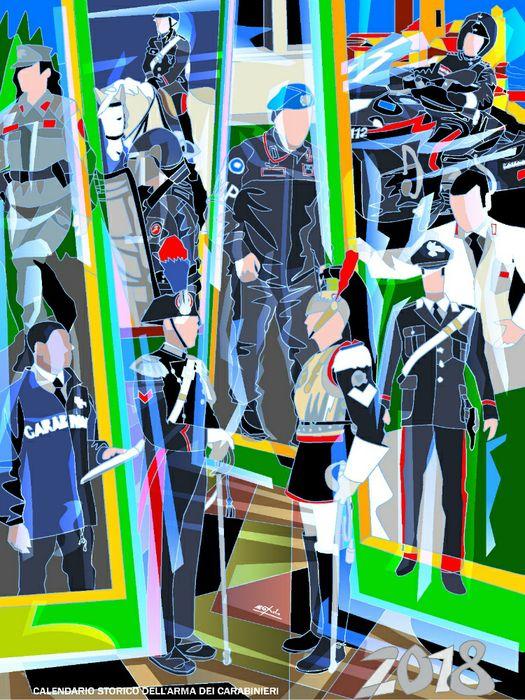 Calendario Storico dell'Arma dei carabinieri