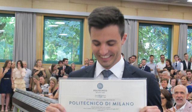 INGEGNERE DANILO MIRAGLIA GIOVANI LAVORO POLITECNICO