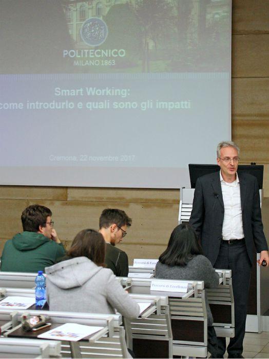 Smart Working, convegno al Politecnico