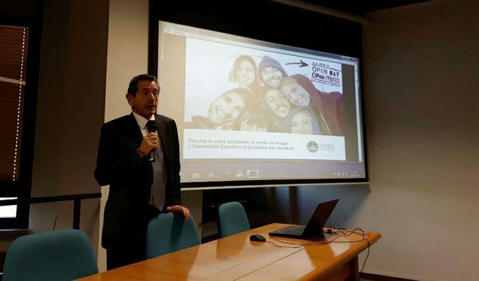 Michele Faldi, direttore dell' Offerta formativa, Promozione, Orientamento e Tutorato