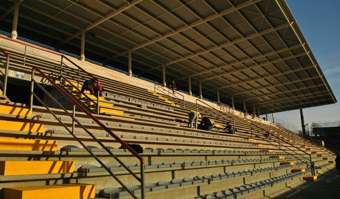 Conferenza stampa - Riapertura tribuna distinti dello Stadio Zini