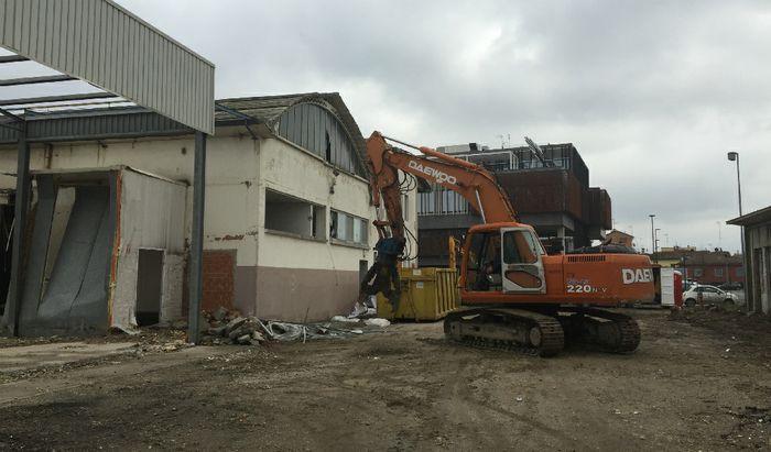 Inizio demolizioni ex Macello