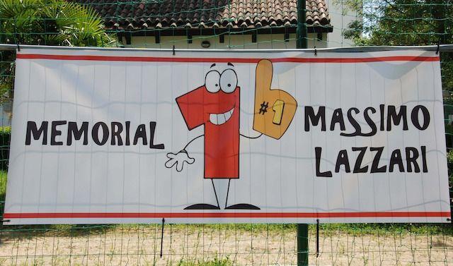 Cartello memorial MASSIMO LAZZARI