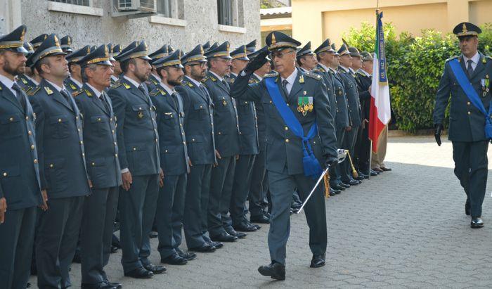 La cerimonia per il 244° anniversario della fondazione della Guardia di Finanza
