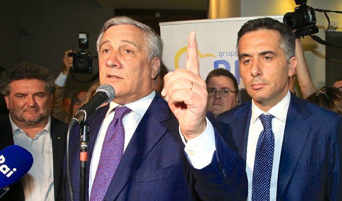 Antonio Tajani e Massimiliano Salini