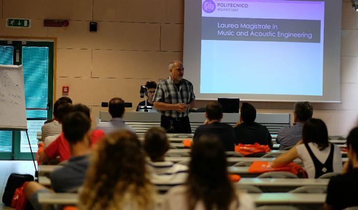 Open Day al Politecnico di Cremona - Presentazione della Laurea magistrale in Music an Acoustic Engineering