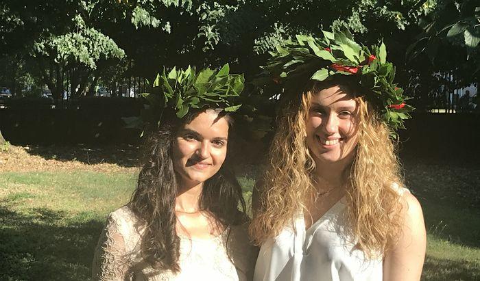 Marina ed Eleonora, laurea in Ingegneria e conclusione del Percorso di Eccellenza