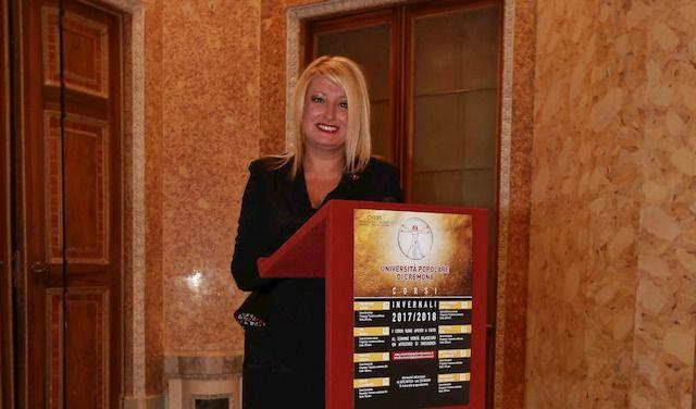 Alessandra Capelli, presidente dell'Università Popolare di Cremona
