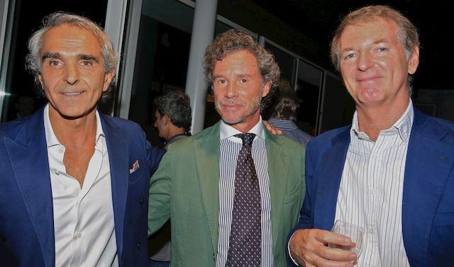 Al centro, Silvio Lacchini
