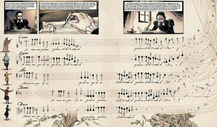 Monteverdi a Fumetti