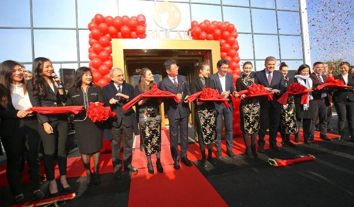 Mulan Group inaugurazione nuovo stabilimento