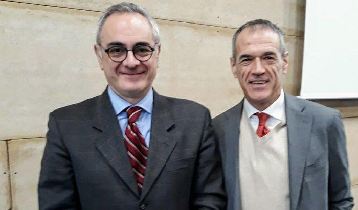 Carlo Cottarelli al Politecnico con Giovanni Ferretti